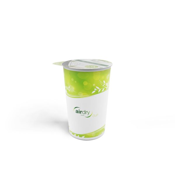Air dry cup green