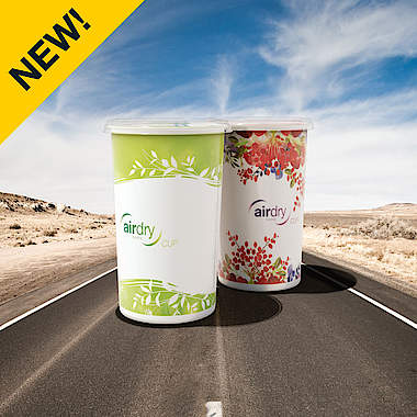 AirDry Cup flower en green